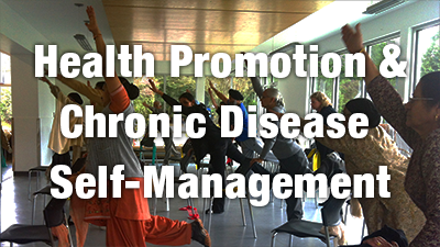 Health promotion and chronic disease self-management